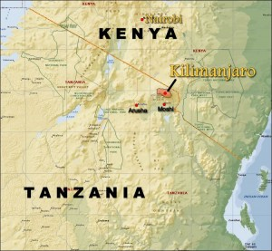 Where Is Mount Kilimanjaro On A Map Of Africa.Where Is Kilimanjaro Climbing Kilimanjaro